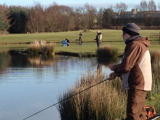 Weekly Fishing Report - Winter Pairs At Lochter