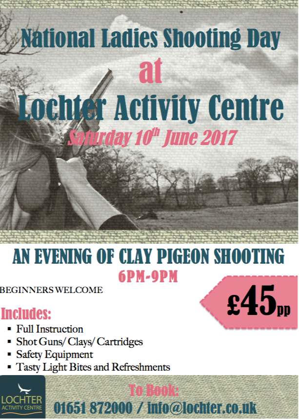 National Ladies Shooting Day at Lochter